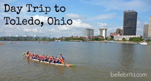 Day Trip to Toledo, Ohio: Dragon Boat Racing and More