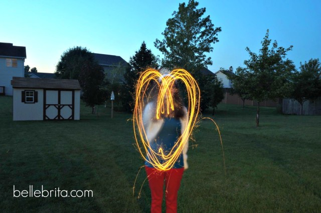4th of July Sparklers and Photography