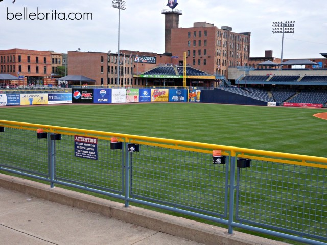 baseball day trip to toledo ohio