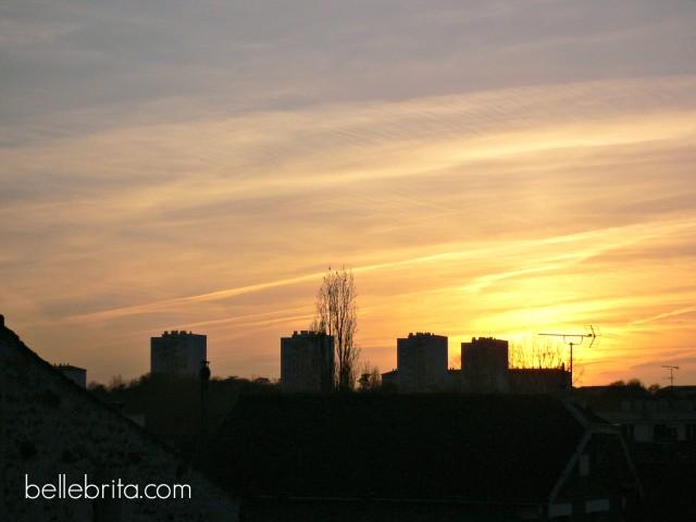 Niort skyline
