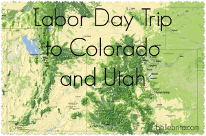 Labor Day Vacation to Denver and Salt Lake City (a recap) #travel
