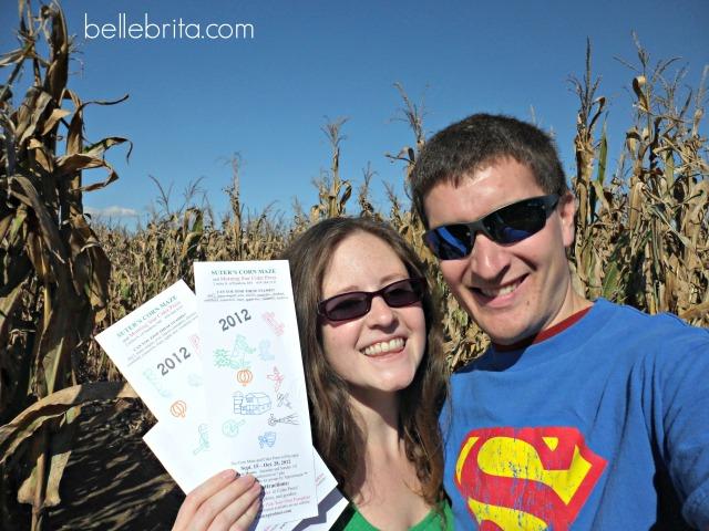 Fall date ideas: do a corn maze together! #fall