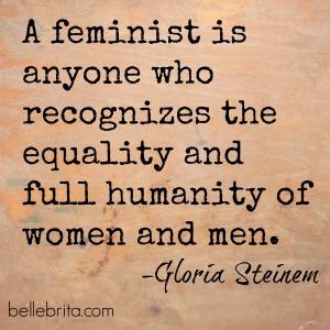 Gloria Steinem on #feminism