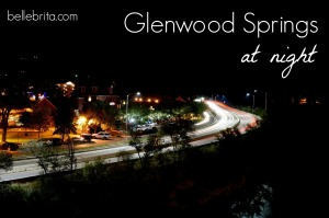 Long-exposure shot of Glenwood Springs #photography