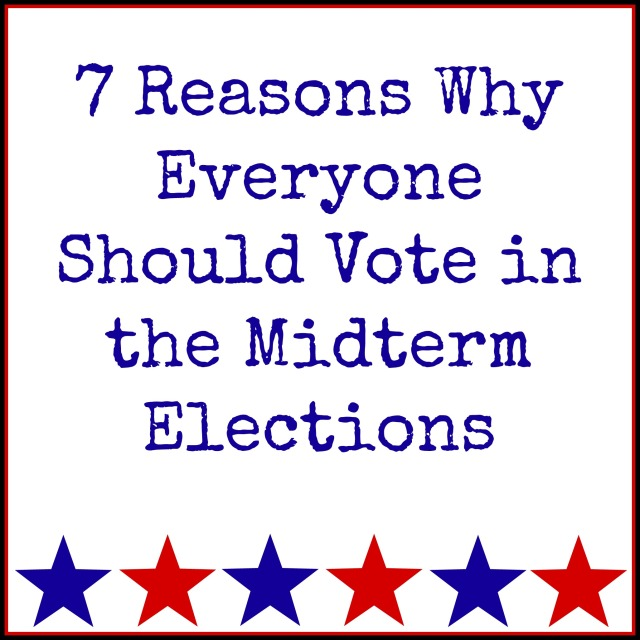 Great look at why it's so important to vote in the midterm elections, regardless of your political beliefs