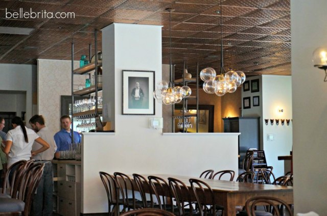 Charming light fixtures. Follow the link to see more stunning photos of The Copper Onion, a popular Salt Lake City restaurant.