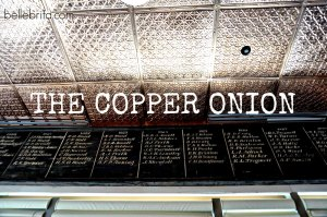 Rave review of The Copper Onion, offbeat restaurant in Salt Lake City! #foodie #travel