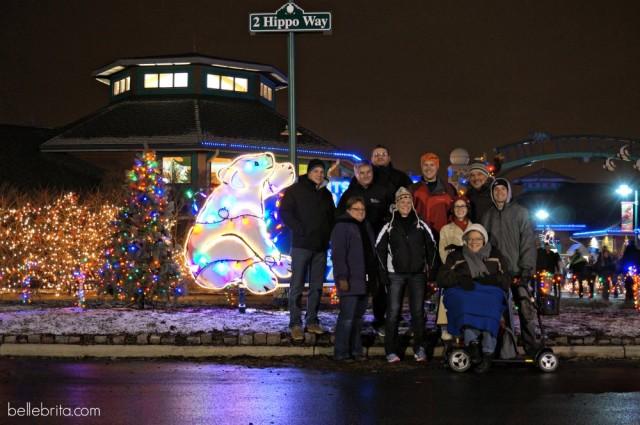 Toledo Zoo at Christmas
