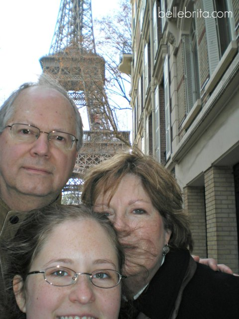 You're never too old for adventure! My parents visited me in Paris during my study abroad trip.