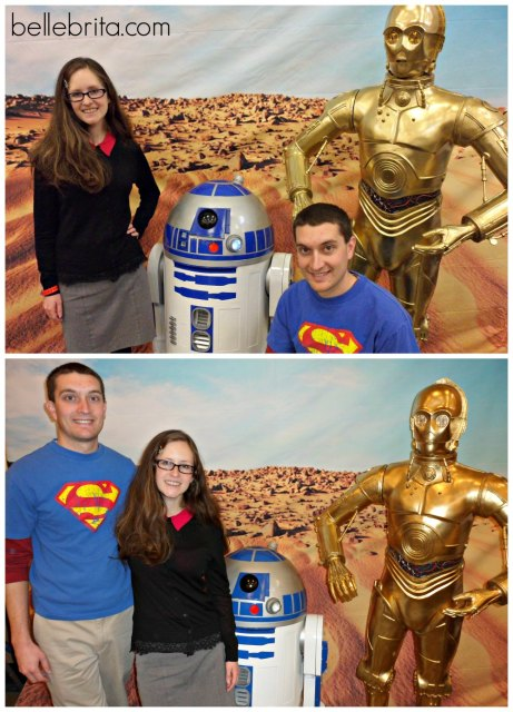 Dressing up as Drs. Sheldon Cooper and Amy Farrah Fowler for the Steel City Comic Con