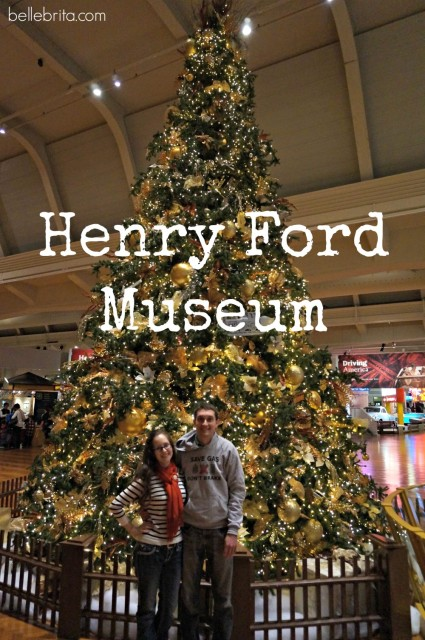 Christmas at the Henry Ford Museum