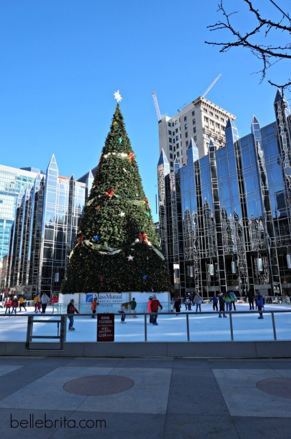 Another tree and skating rink in Pittsburgh!