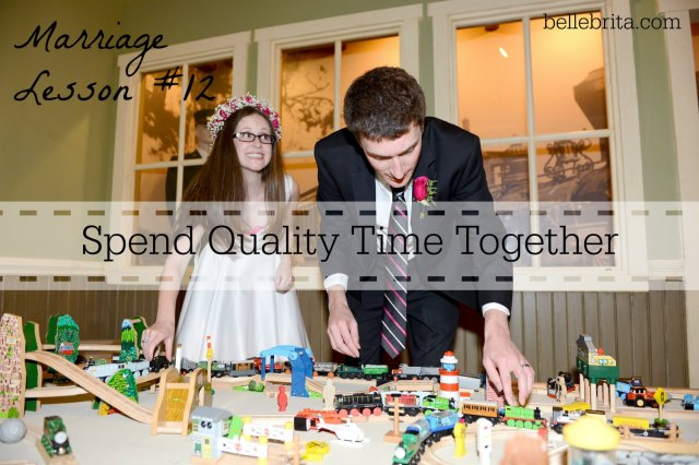 Marriage Lesson #12: Spend quality time together! Click to read 29 other lessons my parents taught me about marriage! #weddings #anniversary