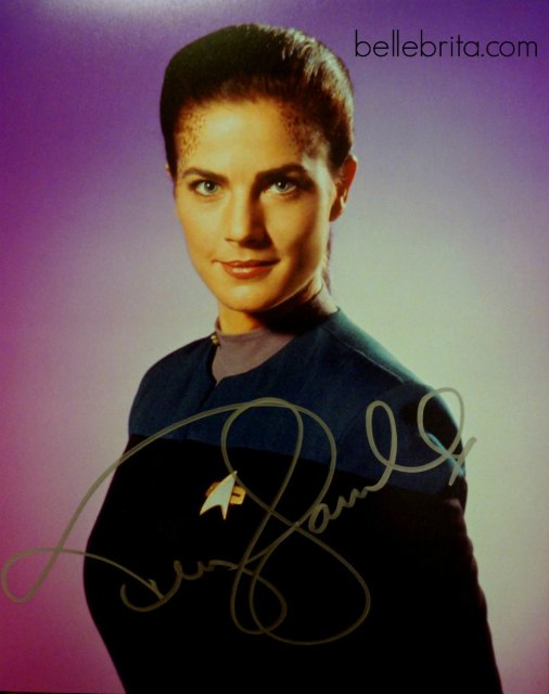 One of two signed photos from Steel City Comic Con