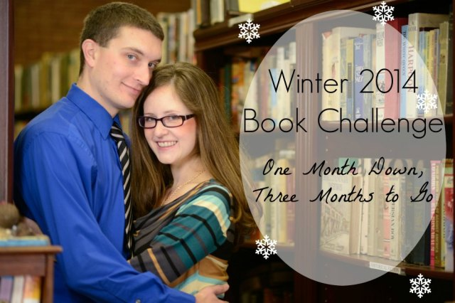 I'm reading for the Winter 2014 Book Challenge! Check out what I accomplished in the first month.