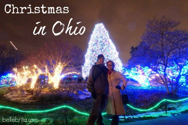 Celebrating Christmas in Ohio with my husband's family