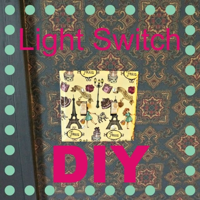 Duct tape light switch diy belle brita try this easy duct tape light mozeypictures Gallery