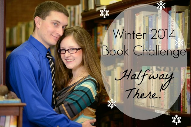 I've made great progress with the Winter 2014 Book Challenge!