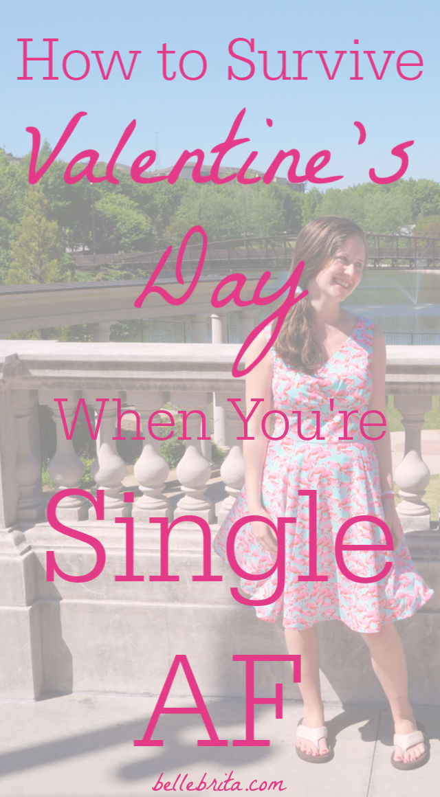 Single this Valentine's Day? Check out these 7 fun ideas to celebrate Valentine's Day solo or with friends. | Belle Brita #holidayideas #valentines