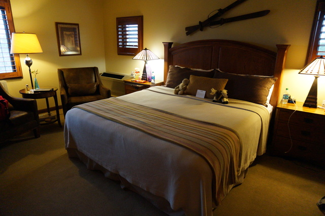Warm and inviting room at Lucille's Mountaintop Inn & Spa #travel