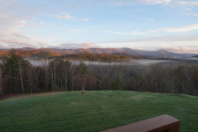 Views from Lucille's Mountaintop Inn & Spa. #breathtaking #nature