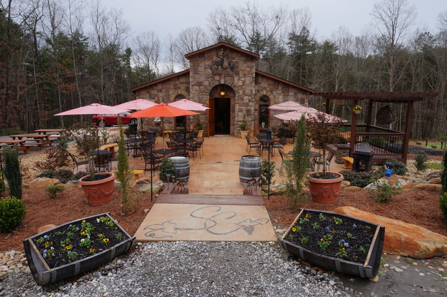 Lovely wine tasting in #Georgia!