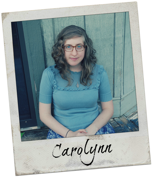Carolynn blogs about sewing, marriage, and more at Kitty Ears.