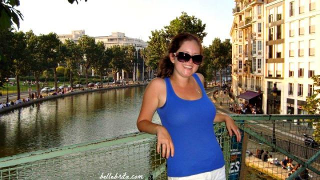Canal Saint Martin is a beautiful spot in Paris off the beaten path