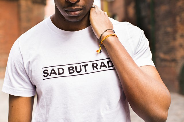 Sad but Rad tee from Wear Your Label
