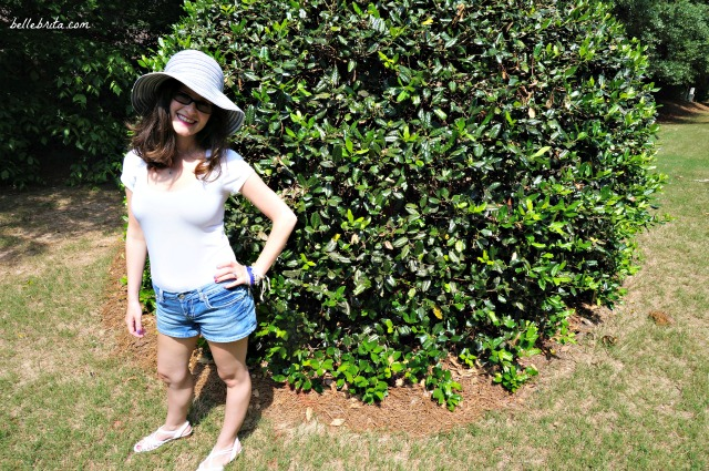 Wide-brimmed hats are a must for southern summers. They protect my fair skin from the sun!