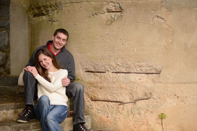 Trinity Photography scoped out several great locations for our engagement pictures.