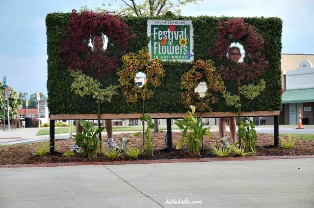 Every June, Greenwood, SC celebrates the Festival of Flowers!