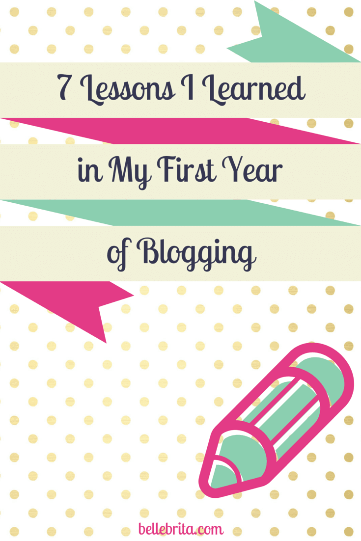 These 7 lessons I learned in my first year of blogging can only be truly understood by other bloggers.