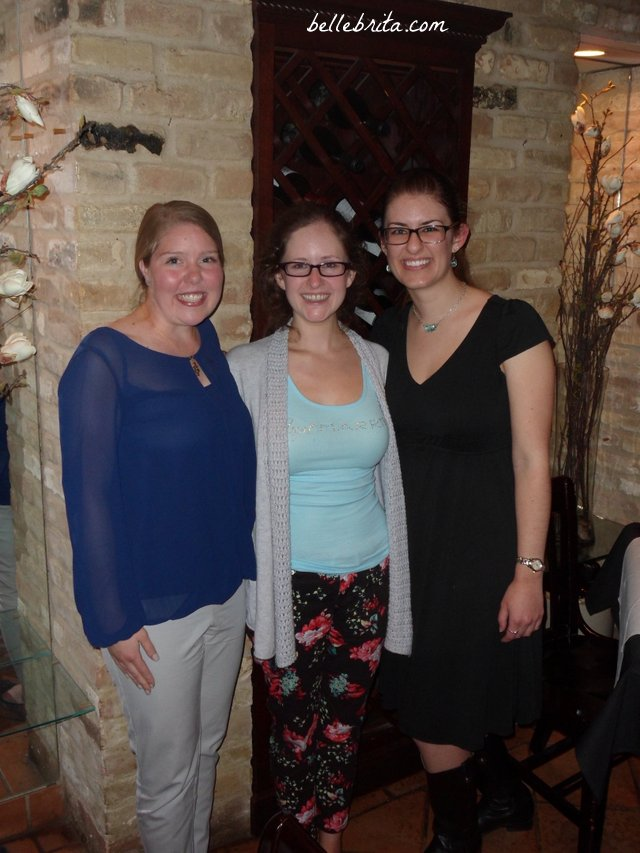 With my Kappa Little and Grand-Little, the day after my wedding