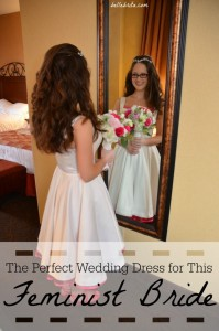 How I blended my personality with traditions to come up with the perfect wedding dress.