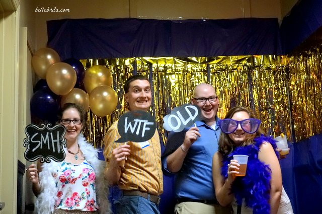 A photobooth is a great way to start conversation (and pictures!) at a high school reunion.
