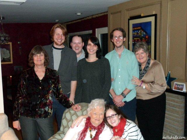 Celebrating a Haugen family Christmas in Denver, 2012 | Belle Brita