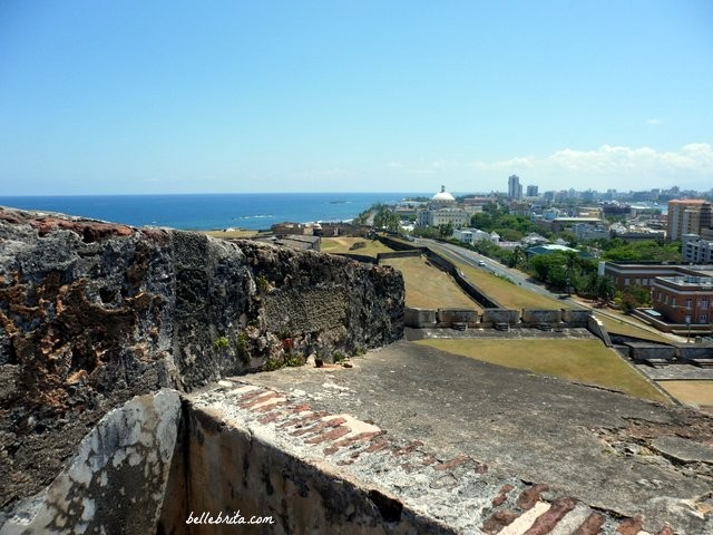 One of the stunning views from Old San Juan