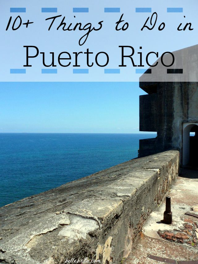 10+ fun things to do during your Puerto Rico honeymoon