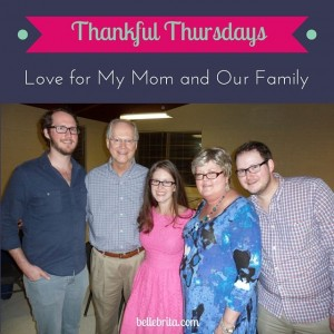 More than six weeks after my mother's death, I'm thankful for the outpouring of love and support my family has received. | Belle Brita