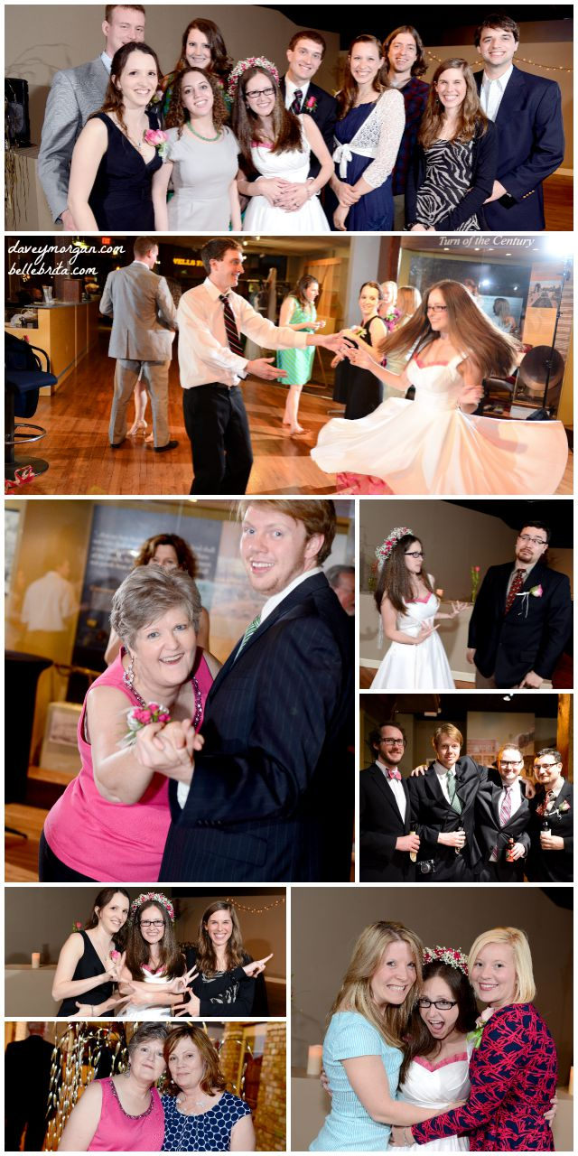 If everyone has fun at your wedding reception, it's a success! | Belle Brita