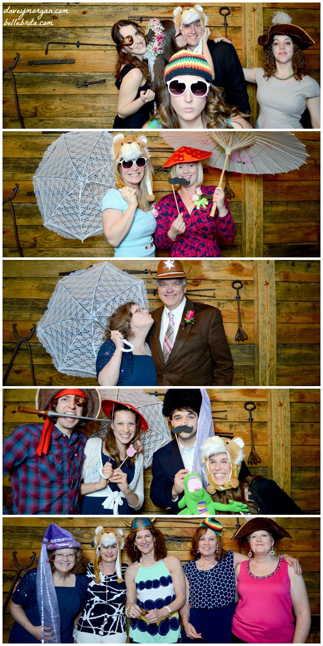 Photo booths are a fun way for guests to interact with each other. | Belle Brita #weddingplanning