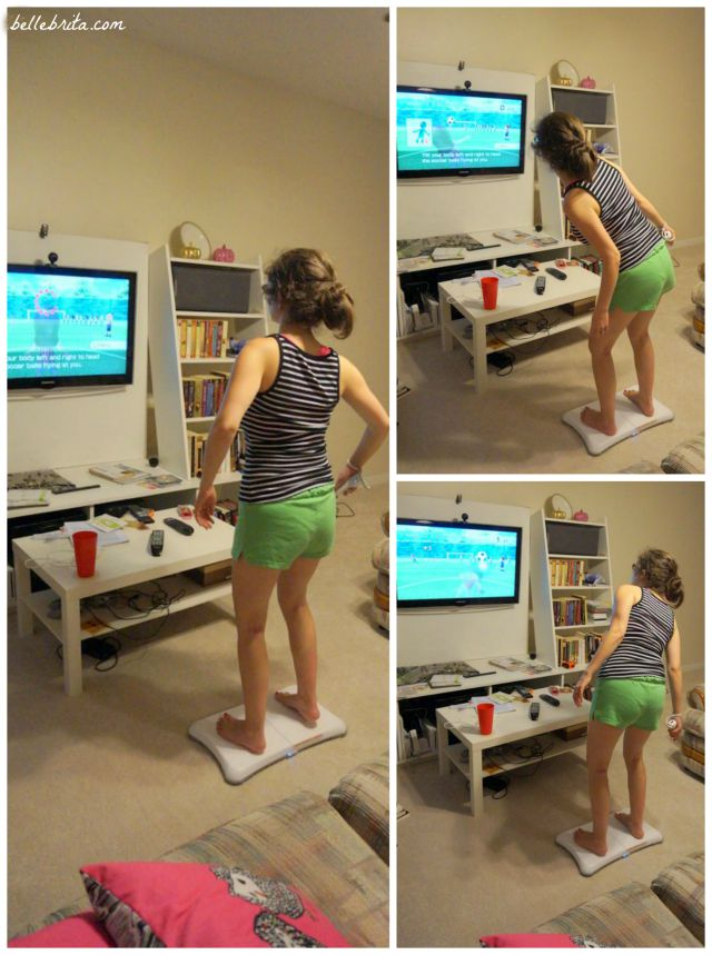 Using Wii Fit is a great way to being an exercise regimen! | Belle Brita