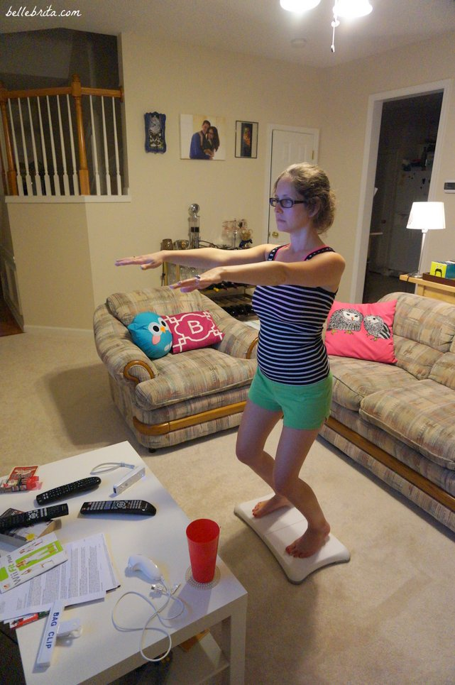 I use the Wii Fit to learn yoga! | Belle Brita