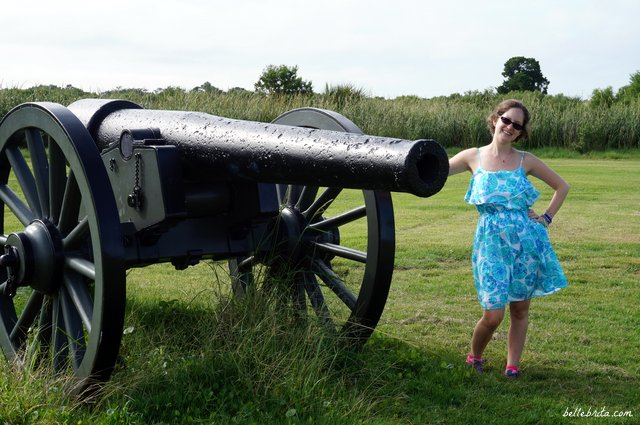 My husband and I loved our romantic weekend getaway in Savannah! On Saturday we visited Fort Jackson. | Belle Brita