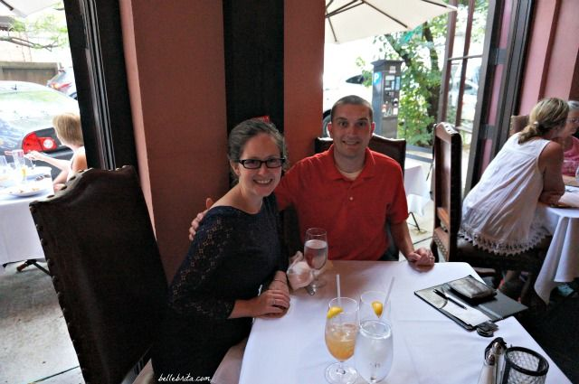 Dan and I enjoyed a date night at The Olde Pink House in Savannah, GA. It was so great spending intentional time together! | Belle Brita