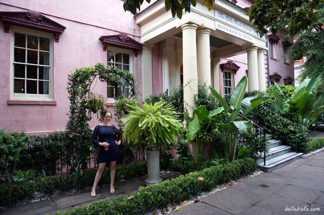 After dinner at The Olde Pink House in Savannah, GA | Belle Brita