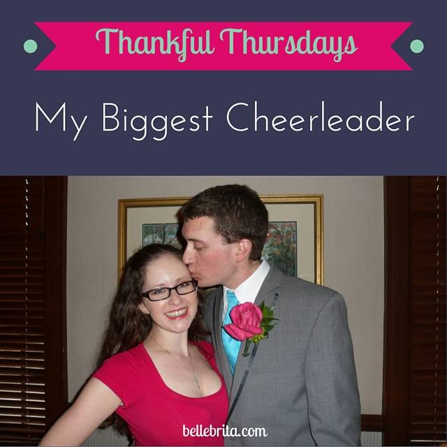 I'm so thankful for how much my husband supports my writing career! | Belle Brita