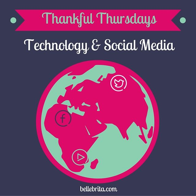 Technology and social media are tools. We have the power to use them or abuse them. Personally, I'm grateful to have so many ways to stay connected with friends worldwide! | Belle Brita