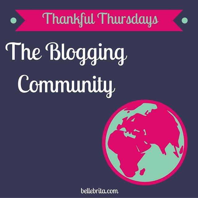 I love how welcoming and supportive the blogging community is! | Belle Brita
